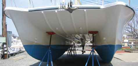 SRD is a better hull shape, fast, fuel efficient, stable